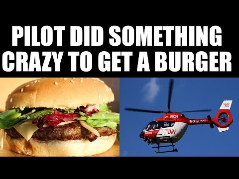 Australian pilot lands helicopter out fast food joint to get his favorite burger | Oneindia News
