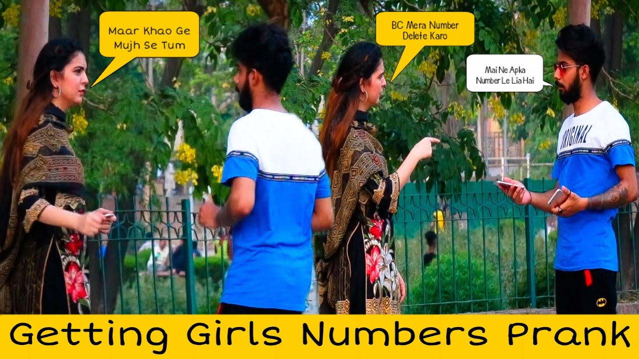 EASY WAY OF GETTING GIRLS NUMBERS | Prank in Pakistan