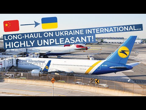 TRIPREPORT | Ukraine International (ECONOMY) | Boeing 767-300 | Beijing - Kiev Boryspil