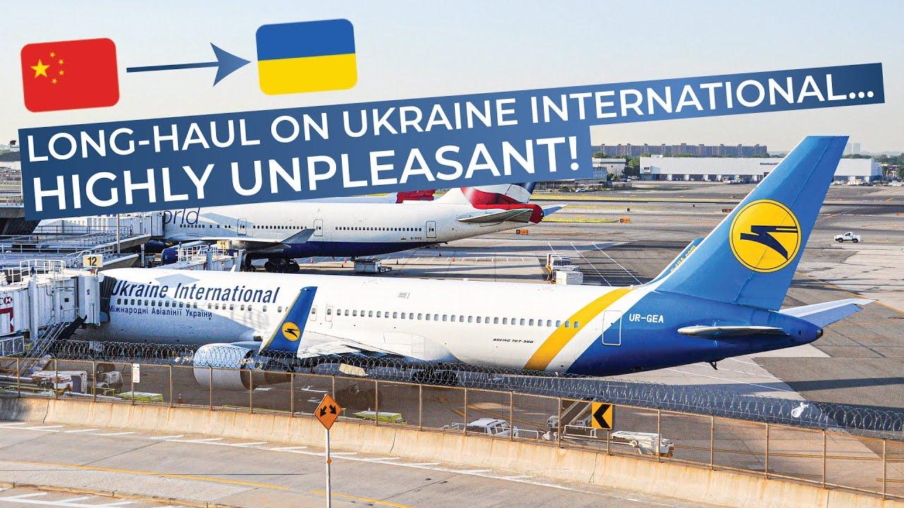 TRIPREPORT | Ukraine International (ECONOMY) | Boeing 767-300 ...