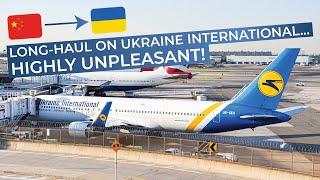 TRIPREPORT | Ukraine International (ECONOMY) | Boeing 767-300 | Beijing - Kiev Boryspil