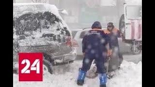 По Камчатке и Сибири ударил мощный циклон - Россия 24