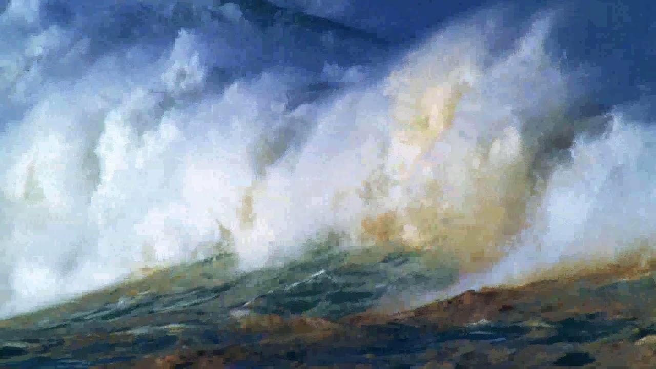مناظر (02) ماء بحر موج مطر