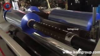 ktsm c pvc film slitting machine double rewinder