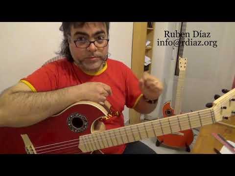 Left hand exercise / Learn contemporary flamenco guitar online via Skype / Ruben Diaz Spain