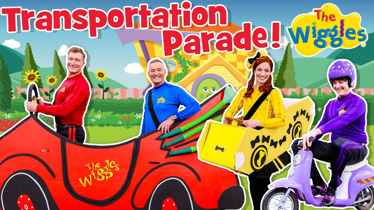 The Wiggles: Transportation Parade | NEW SONG | Songs and Nursery Rhymes for Kids