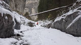 Grotto Canyon Hike and Pictographs - Best Easy Hike near Canmore ?