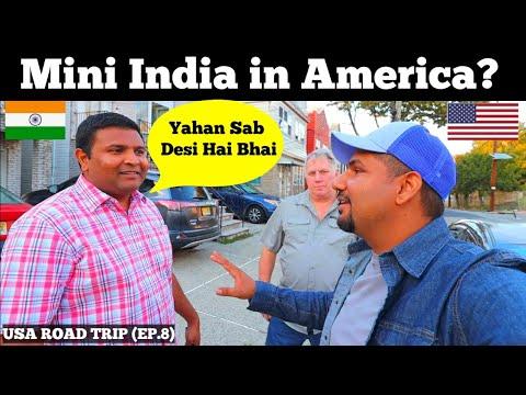 Mini INDIA in AMERICA 🇺🇸 🇮🇳   NEW JERSEY   USA Road Trip (Ep.8)