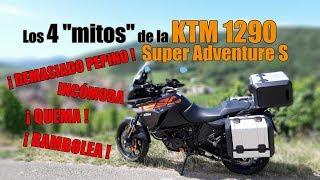 Los 4 mitos de la KTM 1290 Super Adventure S