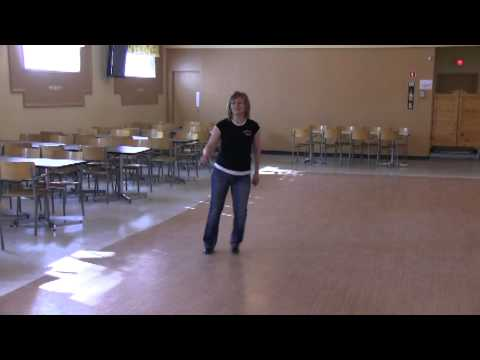 Oh Baby Don't Leave Me (Line Dance Demo)