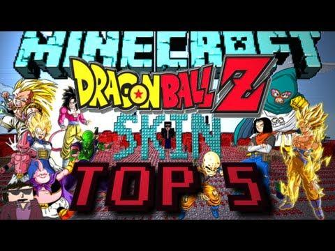 Top 5 SKINS ║ Dragon Ball Z ║ Minecraft