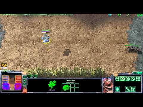 StarCraft 2 - Like A Boss: Tank Medivac Micro Avoiding Projectile Damage - Strategy