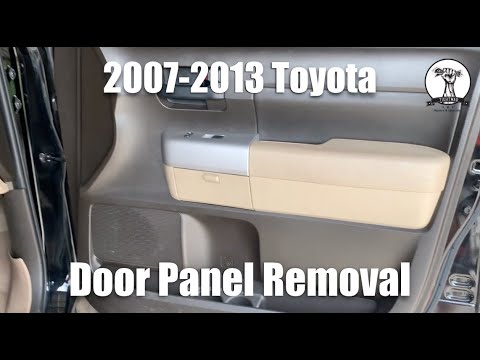 How To Remove Front Door Panel 05 12 Toyota Tacoma Doovi
