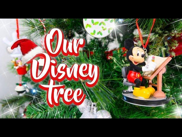 OUR DISNEY CHRISTMAS TREE | 2016