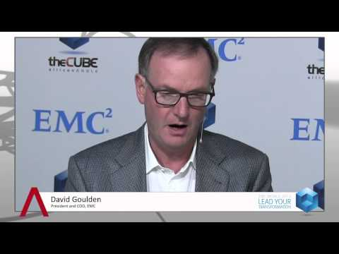David Goulden, EMC - EMC World 2013 -  #EMCWorld #theCUBE