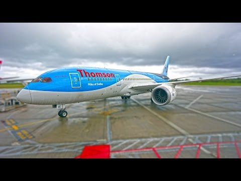 Dreamliner fly to Dominican Republic from Manchester  HD