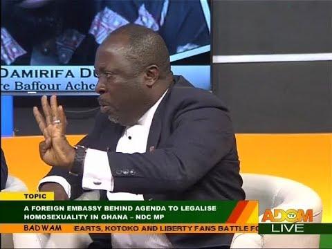 Homosexuality in Ghana  -  Badwam Mpensenpensenmu on Adom TV (30-11-17)