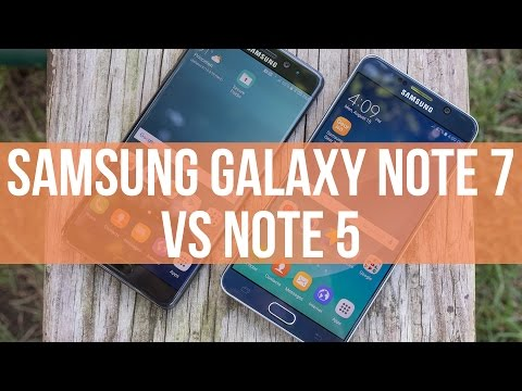Samsung Galaxy Note 7 vs Samsung Galaxy Note 5