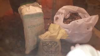 Самодельный измельчитель листьев для переработки червями!