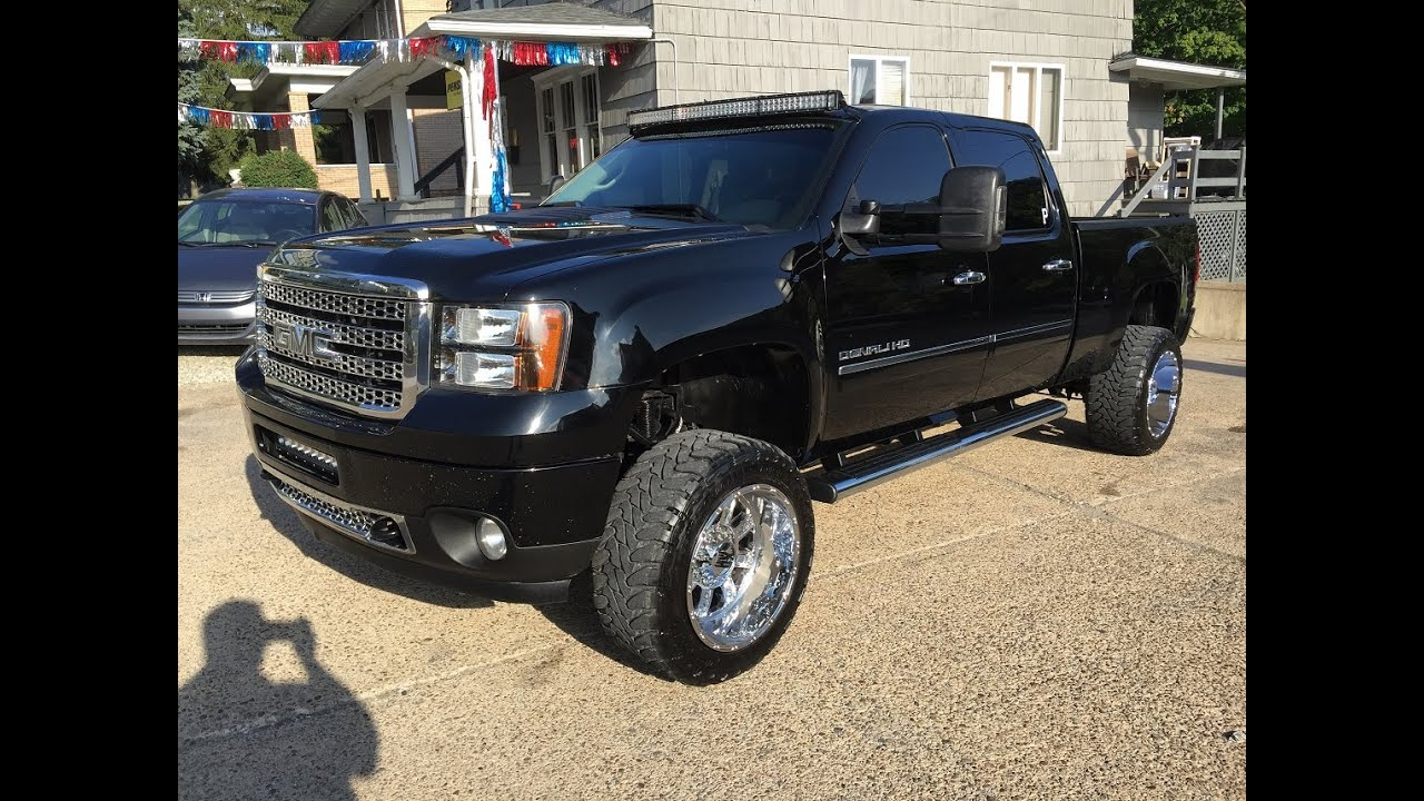2011 Gmc Sierra 2500hd Denali Lifted Sharp Elite Auto