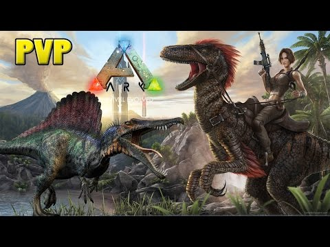 ARK SURVIVAL EVOLVED XBOX ONE - PVP SPINO LVL 120 DEMOREI MAS TAMEIPT-BR
