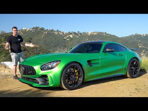 $184,000 Mercedes AMG GTR Review - BETTER Than A GT3RS?