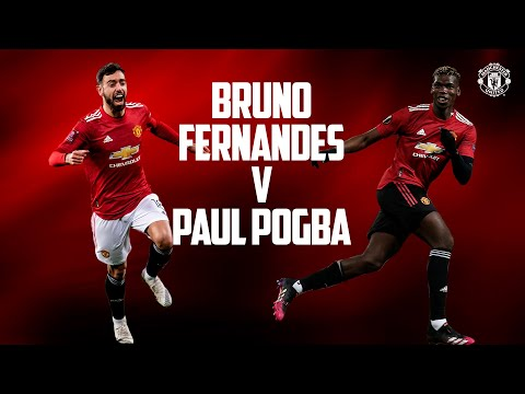 Bruno Fernandes vs Paul Pogba | Portugal vs France Euro 2020 | Manchester United