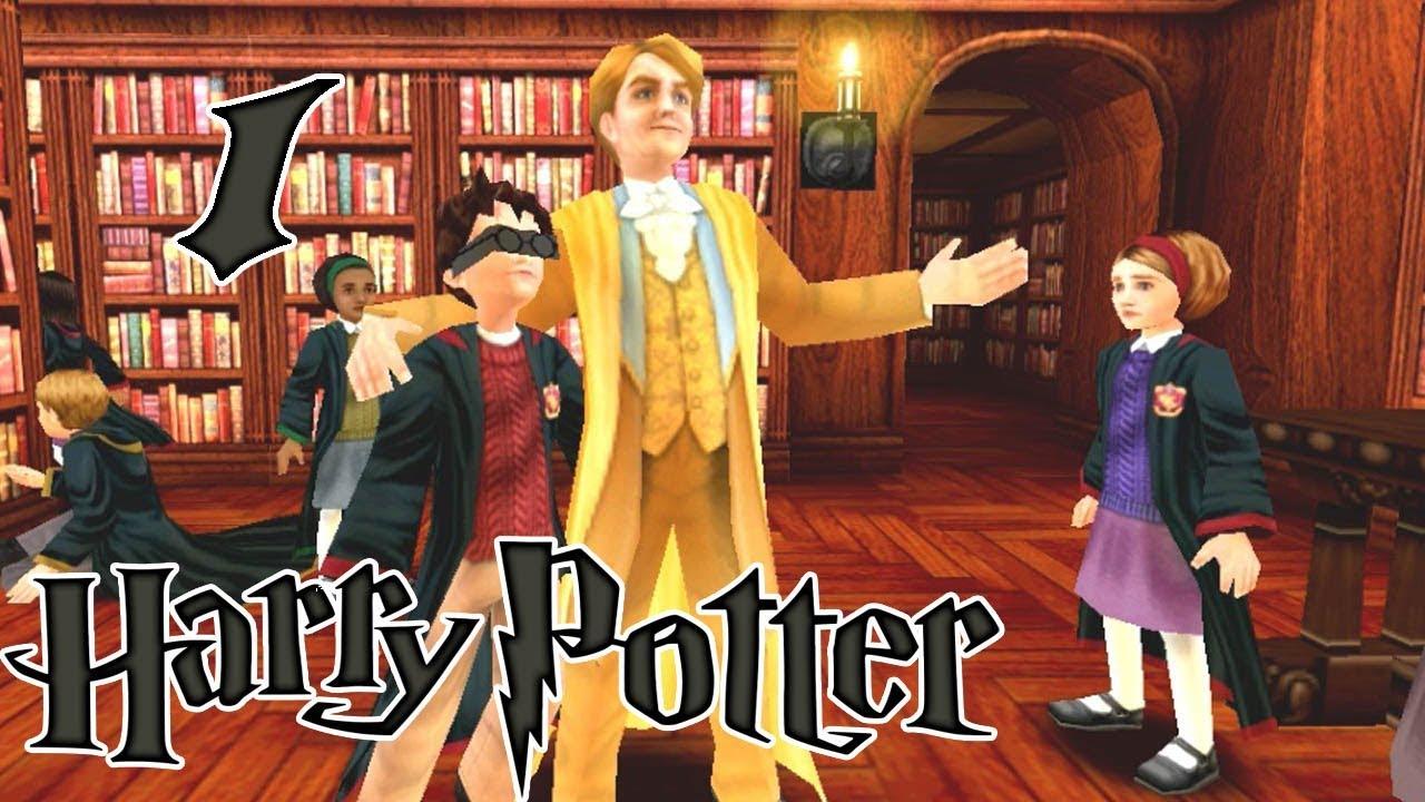 1 Совместное прохождение Гарри Поттер и Тайная комната ...