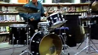 "Michael Bayard Single Stroke Snare Drum Roll from the ""Basement"" II"