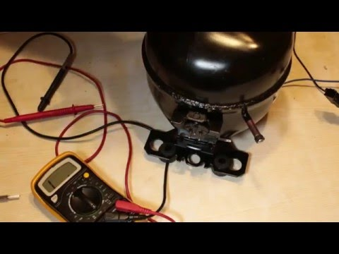 видео: Как проверить компрессор холодильника.Позваниваем обмотки.