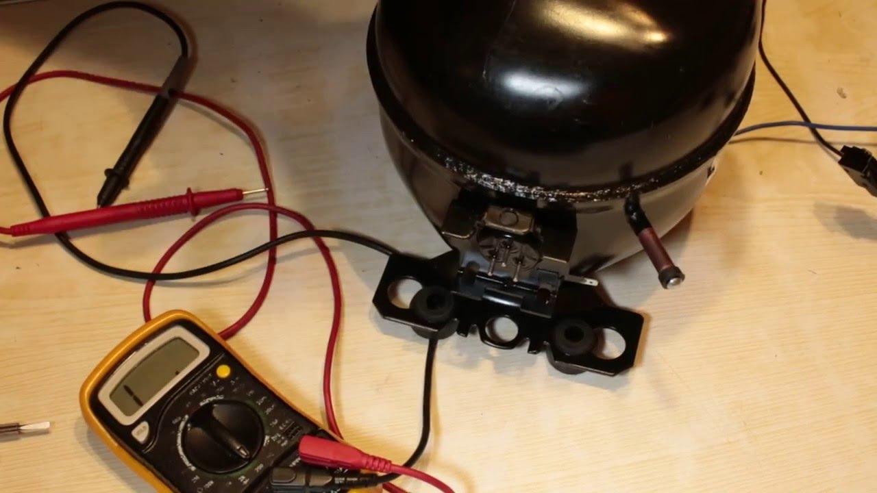 схема подключения компрессора атлант