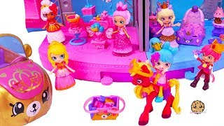 Royal Trends Prince + Princess Dress Up ! Shopkins Happy Places Car Video