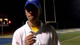 Brendan Dawson (Widener Men's Lacrosse Coach - May 1, 2012)