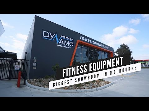 Dynamo Fitness Equipment New Melbourne Showroom Now Open