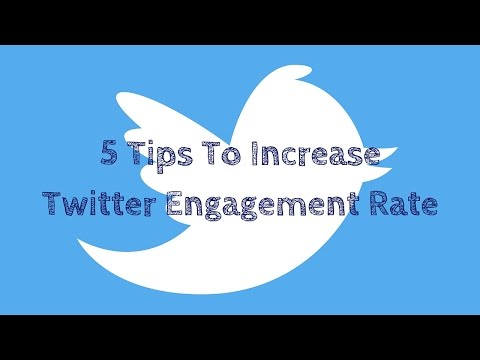 Increasing Your Twitter Engagement Rate
