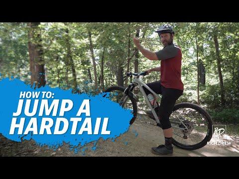 How To Jump A HardTail Mountain Bike: The Ride Series MTB Skills Clinics Rich Drew