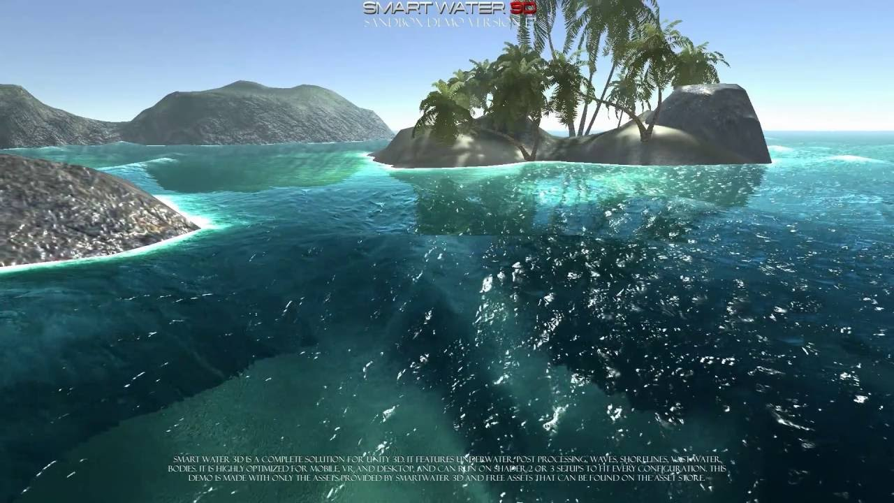 Smart Water 3d version 1 7 water system and shaders for Unity 3d engine