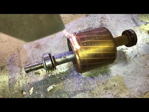 Čištění rotoru elektromotoru