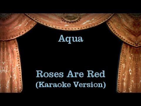 Aqua - Roses Are Red - Lyrics (Karaoke Version)