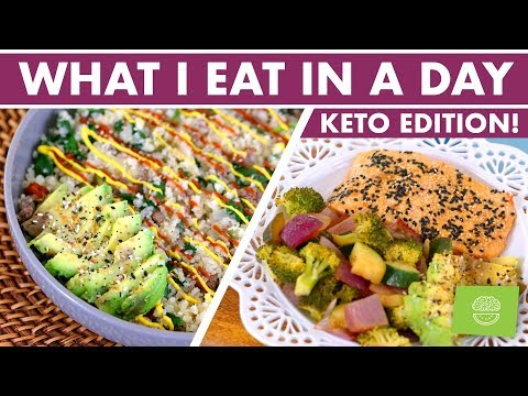 What I Eat in a Day KETO and Intermittent Fasting + ANNOUNCEMENT!