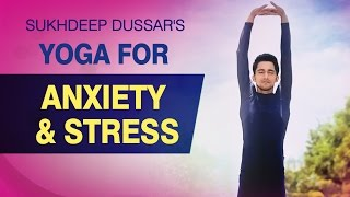 Yoga For Anxiety and Stress - Simple Yoga Asanas (Stress Relief)