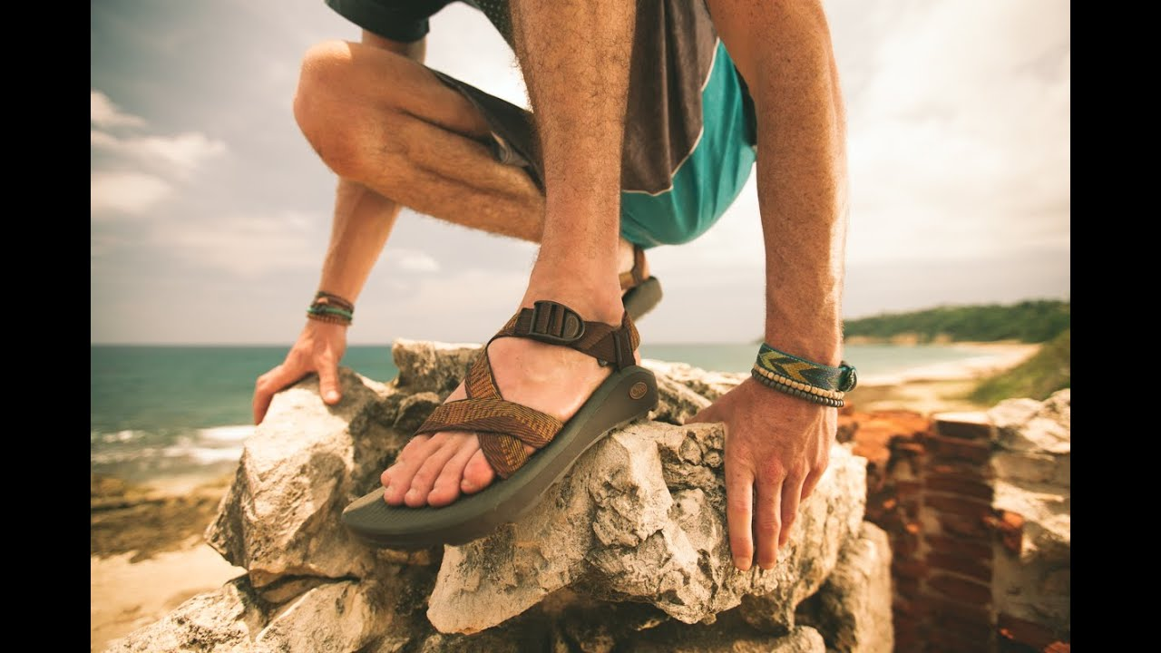 267b1be7aa32 The New Z Cloud Sandal from Chaco - YouTube