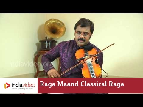 Raga Series - Raga Maand on Violin by Jayadevan