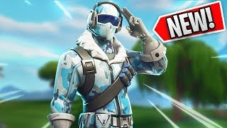 Ninja Gets the NEW SKIN Deep Freeze Bundle in Fortnite
