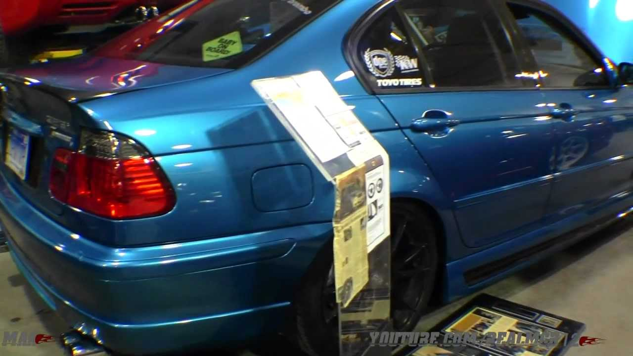 Heavily Modified Bmw 323i Supercharged W A Lot Of Carbon