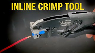 Elite Inline Wiring Connector Crimp Tool - How to Make SECURE and PERFECT Crimps in Tight Areas