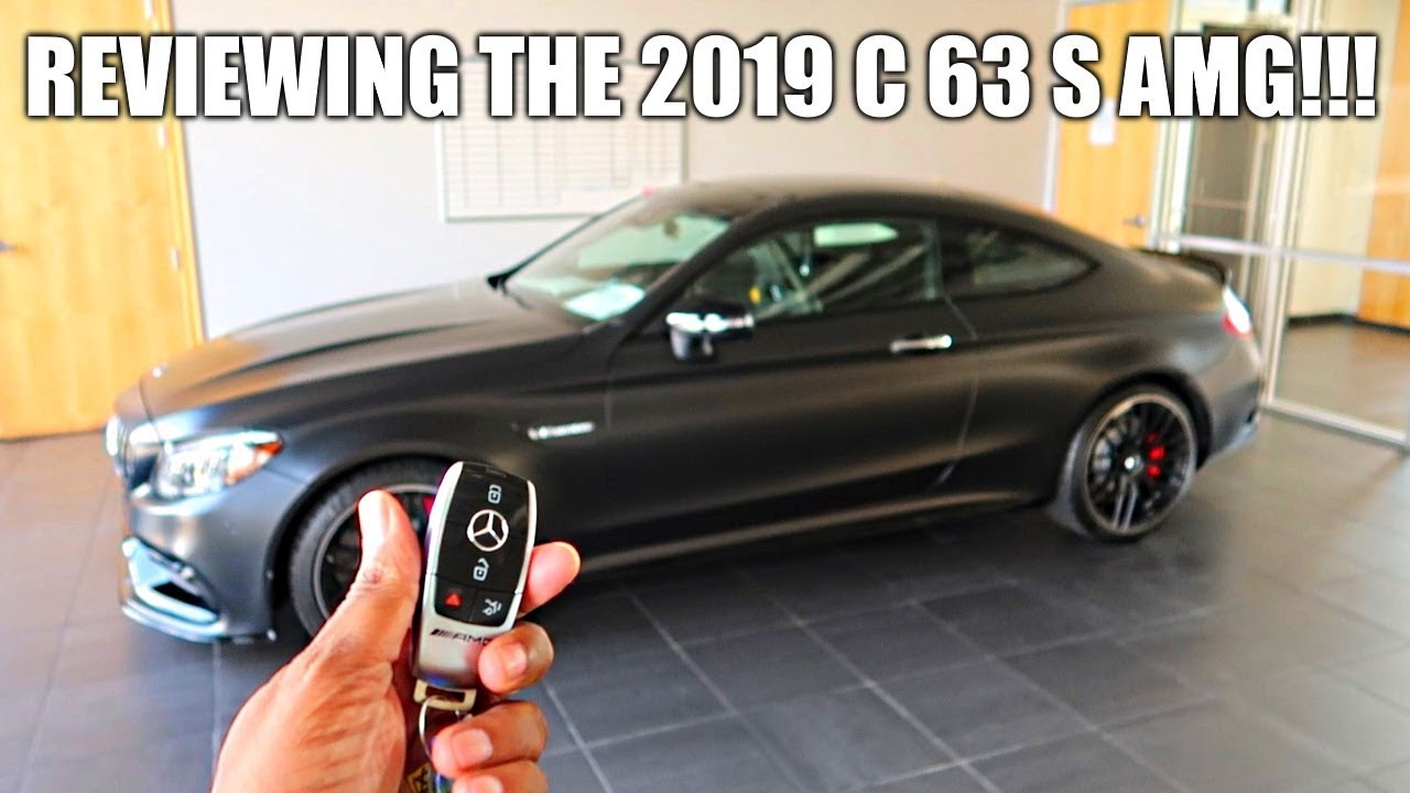 the best new sports car under  100k   reviewing the 2019 mercedes benz c63 s amg