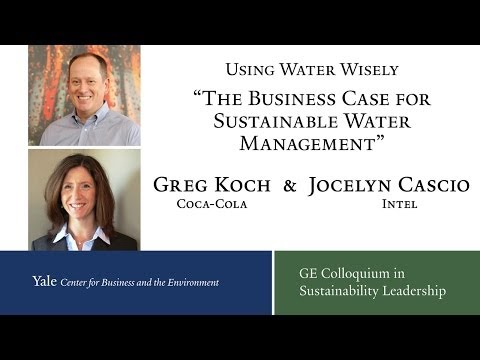 Using Water Wisely The Business Case For Sustainable Water Management