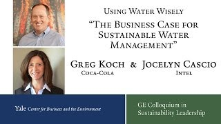 Using Water Wisely: The Business Case for Sustainable Water Management