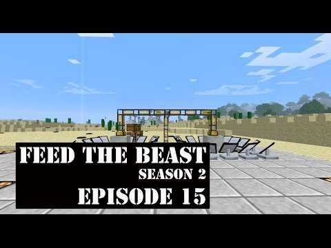 Feed The Beast - S2E15 - Steam Production with the Solar Boiler